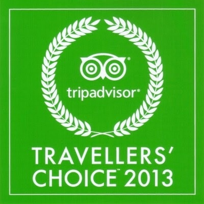 """-Travellers' Choice Award 2013: """"Top 25 Restaurant in the World"""""""
