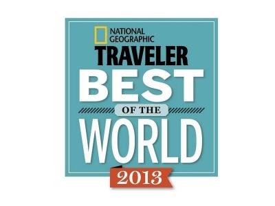 "-National Geographic Traveler USA 2013: ""Best Choice"". -Gourmet 2009."
